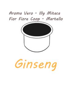10 capsules AROMA TRUE - ILLY MITACA - FIOR FIORE COOP - HAMMER Caffè Barbaro (GINSENG)