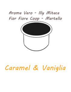 AROMA VERO Capsules - ILLY MITACA - FIOR FIORE COOP - HAMMER Caffè Barbaro (CARAMEL ET VANILLE)