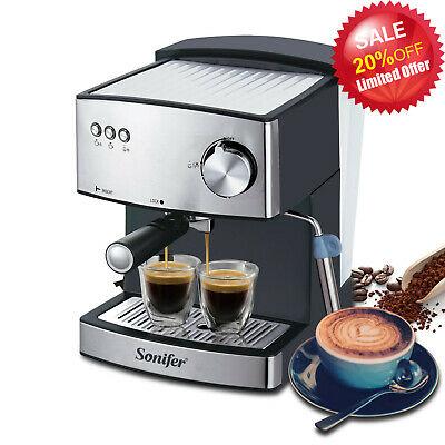 Machine à café espresso Cafetière italienne professionnelle 15 bar pompe Sonifer