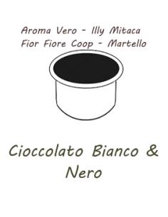 10 capsules AROMA TRUE - ILLY MITACA - FIOR FIORE COOP - HAMMER Caffè Barbaro (CHOCOLAT NOIR ET BLANC)