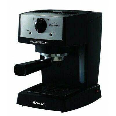 Ariete 1366 Machine à café polv / pods noir / acier inoxydable