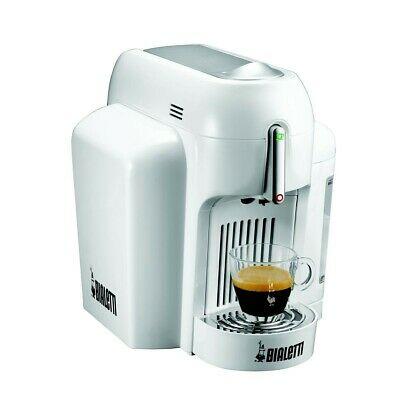 Machine à café blanche à capsules - Bialetti Mini Express Cf62
