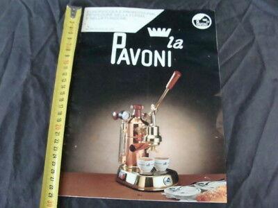 Brochure brochure La machine à café professionnelle à levier La Pavoni et Europiccola
