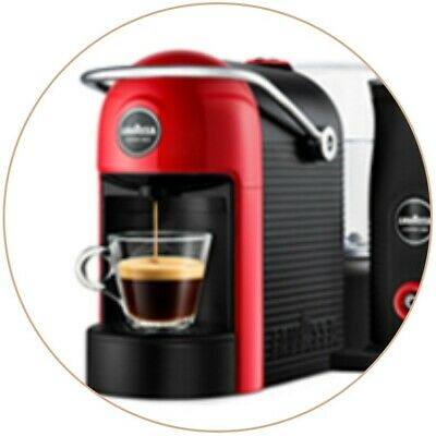 Lavazza A Modo Mio Jolie Machine à Café Espresso & Kit Lait + Petit Déjeuner - Neuf