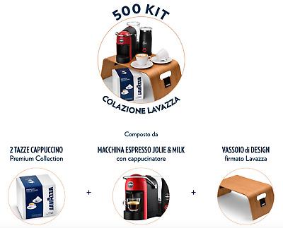 Machine à café espresso Lavazza a Modo Mio Jolie & Milk & KIT Petit déjeuner Lavazza