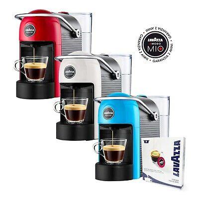 Jolie Lavazza Machine à café rouge / blanche / bleue Modo Mio avec kit Assa
