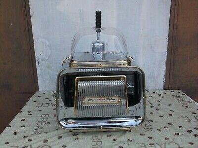 mach. machine à café FAEMA URANIA 1 SÉRIE RÉVISÉE PRÊT À L'EMPLOI étiquette rouge