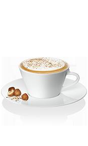 Recette de noisettes à cappuccino