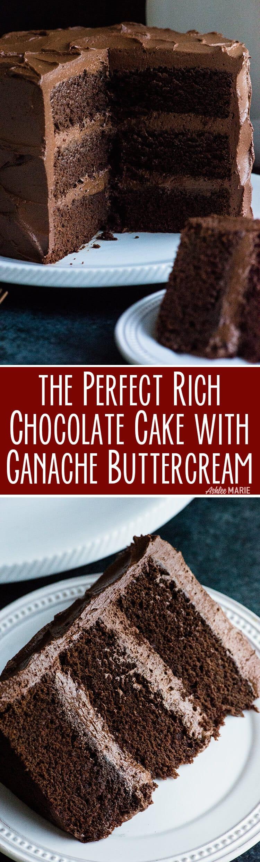 Le gâteau au chocolat parfait - d'un décorateur de gâteaux - riche, décadent, moelleux - tutoriel vidéo