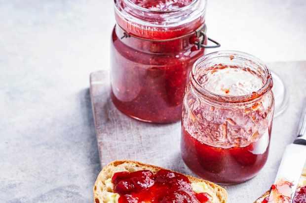 Confiture de fraises au Pimm's