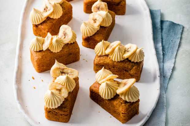 Recette de pain aux bananes Dulce De Leche