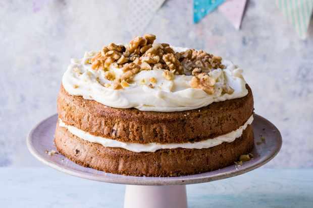 Recette de gâteau au café et aux noix avec du chocolat
