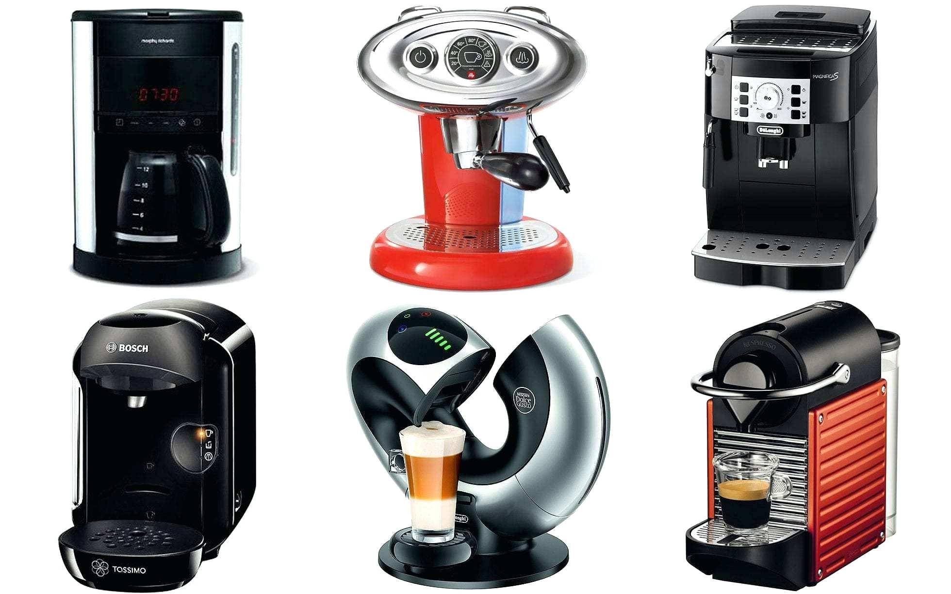 cafetière et machine à expresso avec moulin à café