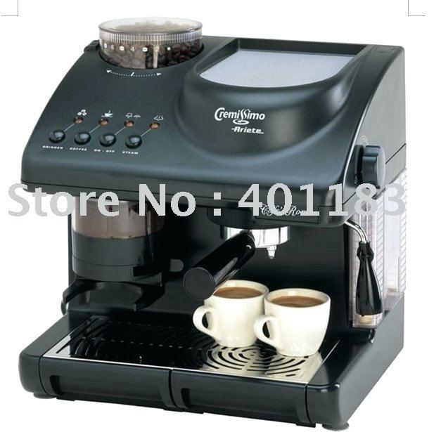 cafetière et machine à expresso avec moulin à café expresso cappuccino machine à café maxi cappuccino avec moulin