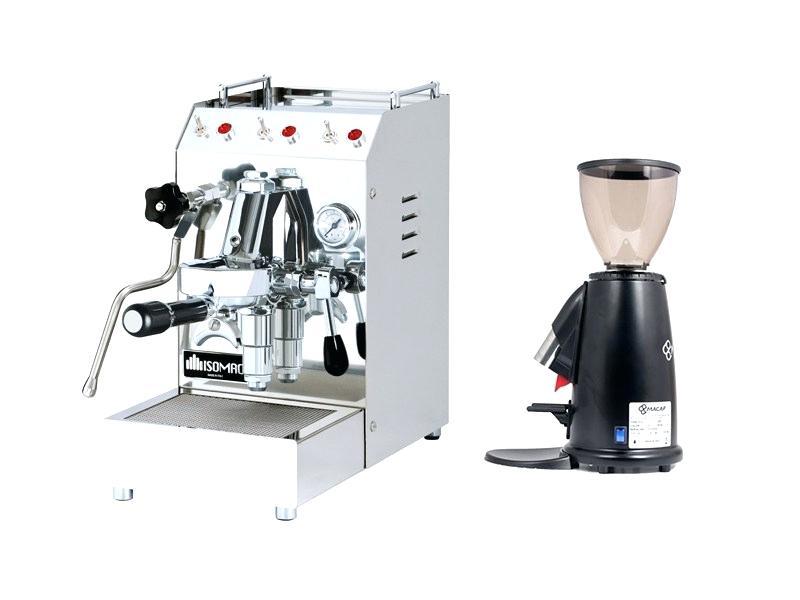 cafetière et machine à espresso avec moulin à café en raison d'un paquet semi-commercial pour machine à expresso