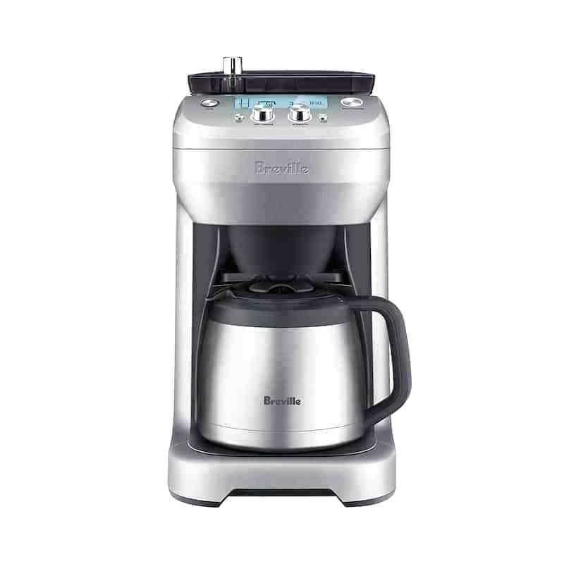 cafetière et machine à expresso avec réglage de la mouture