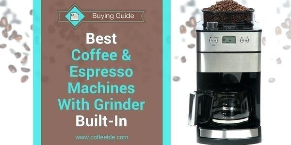 cafetière et cafetière à expresso avec moulin à café