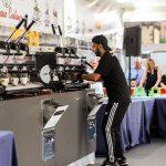 703 cafés extraits en une heure: les machines à levier La San Marco sont un record