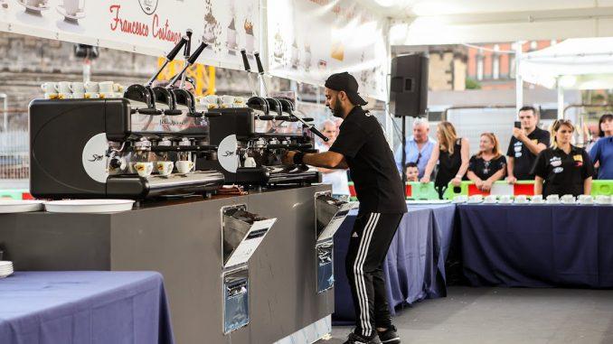 <pre><pre>703 cafés extraits en une heure: les machines à levier La San Marco sont un record