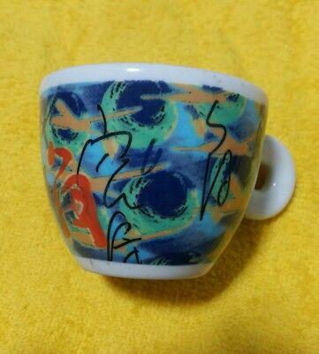 illy coffee tasse à café 1996 Nam June Palk avec soucoupe