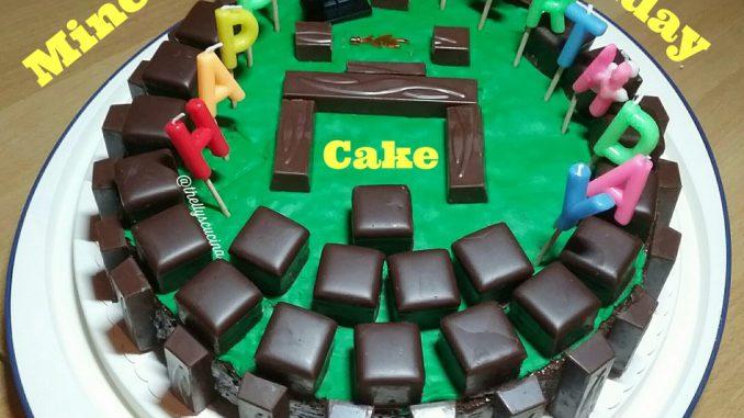 Comment faire un gâteau d'anniversaire Minecraft