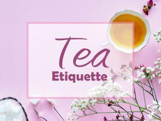Guide d'étiquette de thé
