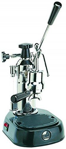 la Pavoni Europiccola EN Machine à expresso semi-automatique autoportante de 0,8 L, 8 tasses, Noir, Acier inoxydable