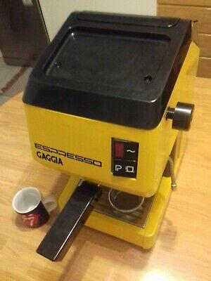 MACHINE À CAFÉ ESPRESSO STRUCTURE GAGGIA en aluminium, premier modèle sans bébé