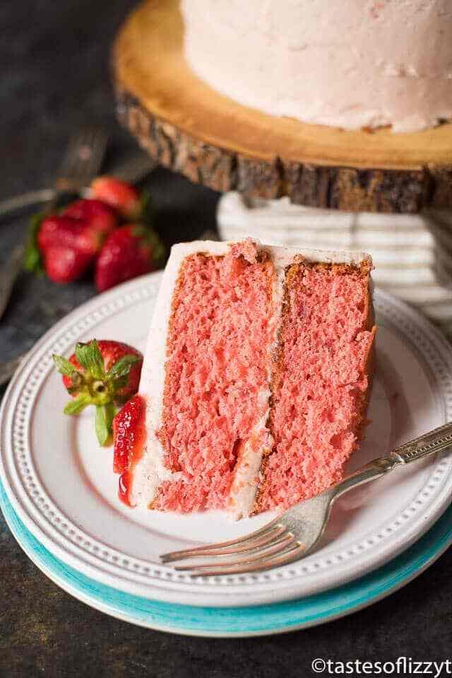 Recette facile de gâteau aux fraises