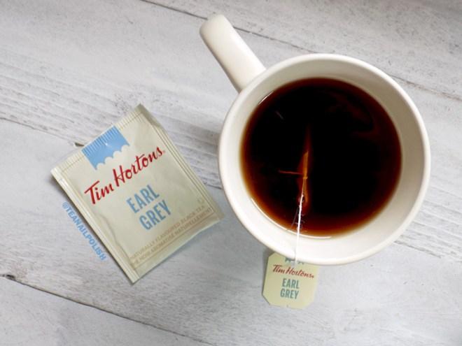 Examen des thés d'épicerie Tim Hortons - Examen du thé Earl Grey par Tim Hortons