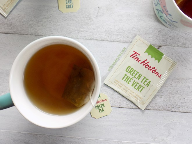 Examen des thés d'épicerie Tim Hortons - Examen du thé vert Tim Hortons