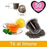 50 capsules de thé au citron compatibles Nespresso