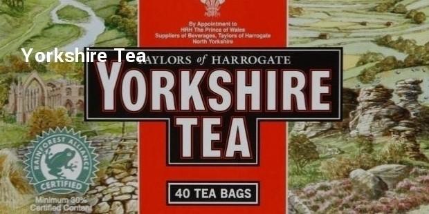 yorkshire thé