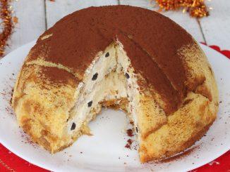 Café Zuccotto Pandoro mascarpone | Recette sucrée de Noël avec Pandoro