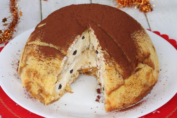 Café Zuccotto Pandoro mascarpone   Recette sucrée de Noël avec Pandoro