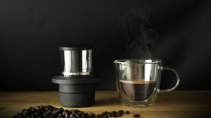 La plus petite machine à café de tous les temps