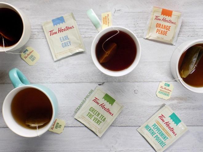 Examen des thés d'épicerie Tim Hortons