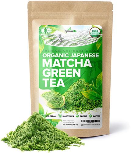 Aprika Life - Thé vert culinaire biologique japonais Matcha