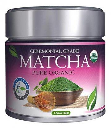 Marque de Matcha distinctement biologique