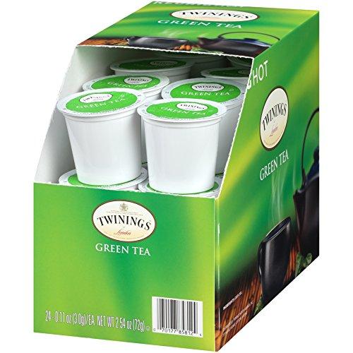 Twinings of London Green Tea K-Cups pour Keurig, 24 unités (paquet de 1)