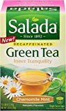 Salada Inner Tranquility- Chamomile Mint Green Tea Single Serve - 12 Cups