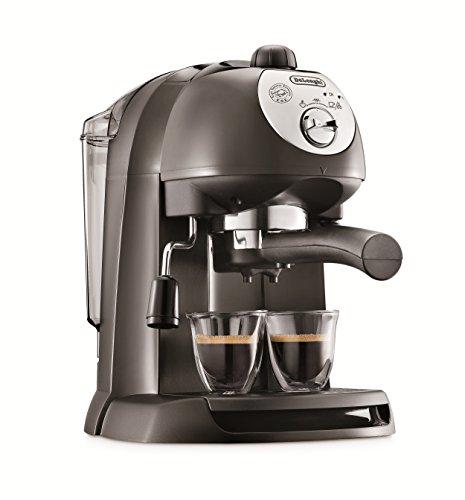 Machine à café De'Longhi EC 201.CD.B, 15 bars, 1100W, couleur noire