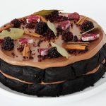 Recette: Chocolat noir, vin chaud et gâteau aux mûres