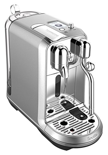 Breville-Nespresso USA BNE800BSSUSC Machine à café expresso Nespresso Creatista Plus, 1, acier inoxydable