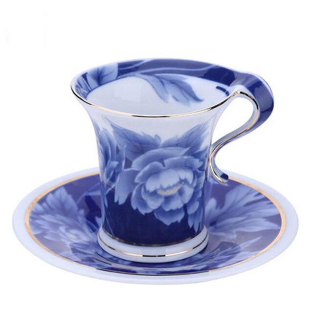 Europe Bone China Simple Afternoon Creative Coffee Cup Set Tea Milk Safe Tekopp Best