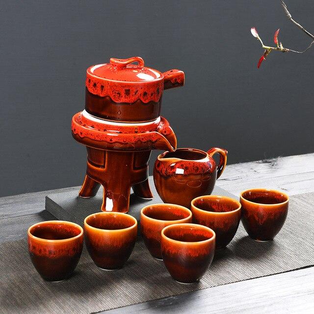 Belle tasse de thé définit les meilleurs cadeaux pour les amis Théière portable Fair Exquisite Package Pot