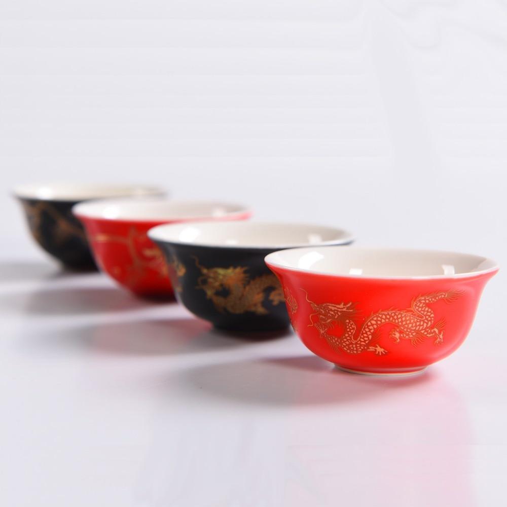Tasses à thé chinois Set Party Best Friend Gifts China Vintage Porcelain Sets For