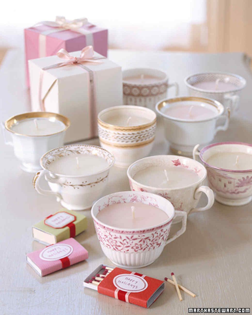 Lumières de tasse de thé