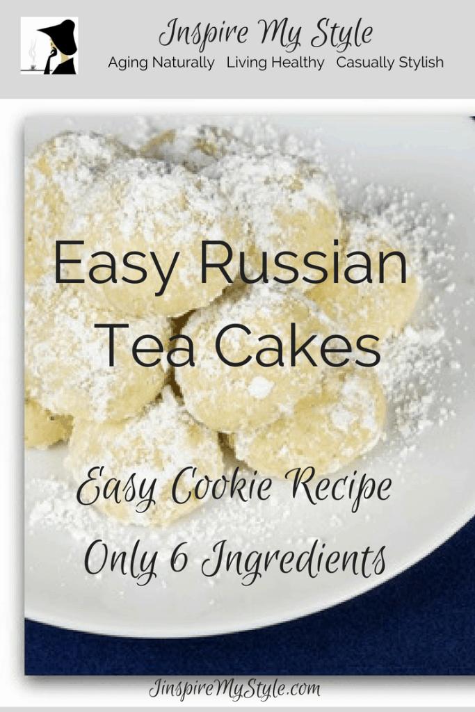 recette de biscuits faciles gâteaux au thé russe