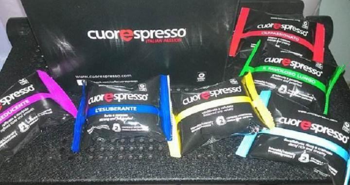 Cuorespresso, café en capsules compatibles aux saveurs uniques